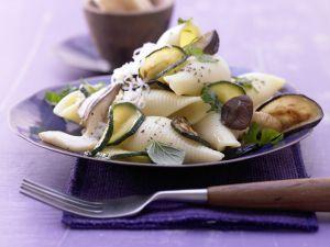 Zucchini-Pilz-Pasta Rezept