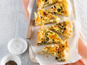 Zucchini-Quiche Rezept