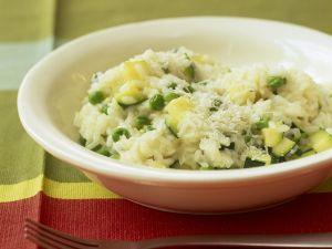 Zucchini-Risotto Rezept