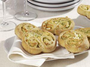 Zucchini-Schnecken Rezept