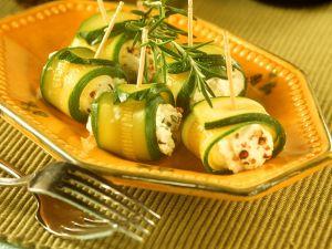 Zucchini-Ziegenkäse-Häppchen Rezept