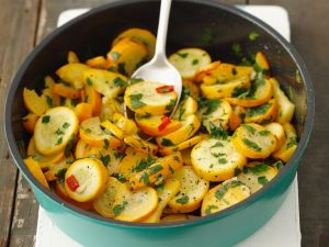 Zucchinipfanne Rezept