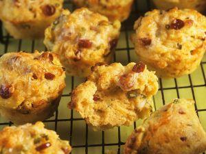 Zwiebel-Speckmuffins Rezept