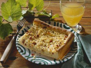 Zwiebelkuchen auf fränkische Art Rezept