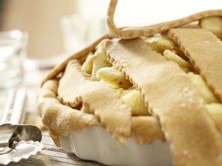 Klassischer Apfelkuchen: Zubereitungsschritt 11