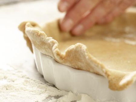 Klassischer Apfelkuchen: Zubereitungsschritt 9
