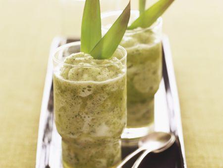 Ananas-Minz-Cocktail