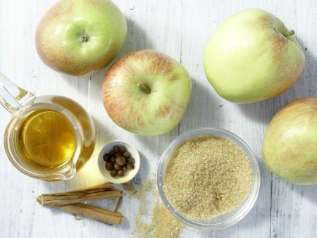 Apfelkompott: Zubereitungsschritt 1