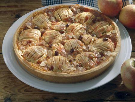 Apfelkuchen nach Elsässer Art