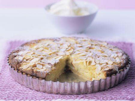 Rezept: Apfelkuchen mit Mandeln