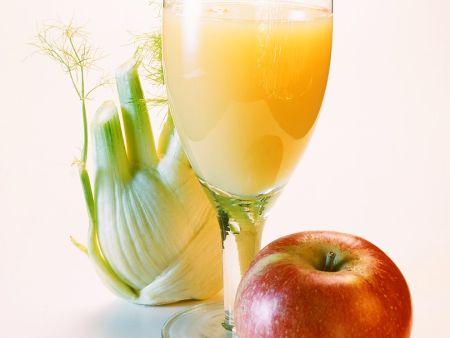 Apfelsaft mit Sellerie