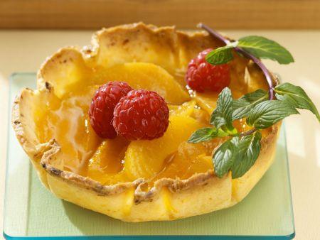 Aprikosen-Himbeer-Tartelettes