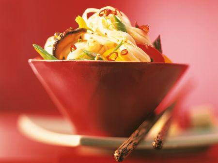 Asia-Nudeln mit Wokgemüse