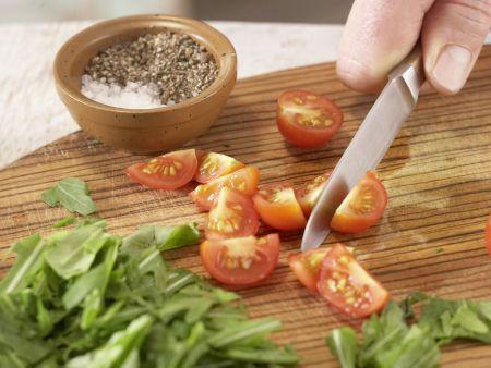 Avocado mit Mandelkruste: Zubereitungsschritt 2