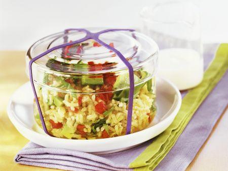 Avocado-Reis-Salat