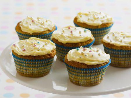 Bananen-Cupcakes