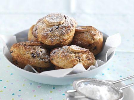 Bananen-Nuss-Muffins mit Schokochips