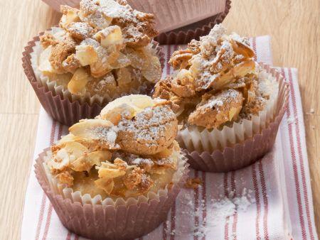Bananenmuffins mit Amaretti-Topping