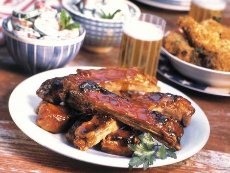 Barbecue-Spareribs