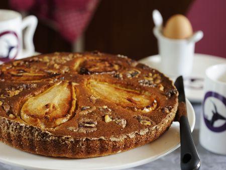 Birnen-Walnuss-Kuchen