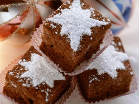 Rezept: Weihnachtliche Brownies
