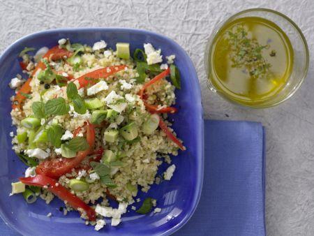 Bulgur-Avocado-Salat