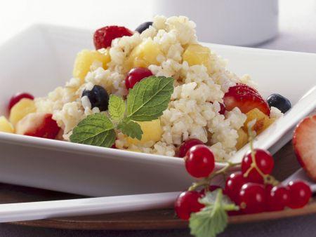 Bulgur mit frischen Früchten