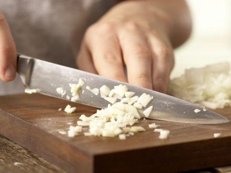 """Kartoffelpfanne """"Indianer-Schmaus"""": Zubereitungsschritt 4"""