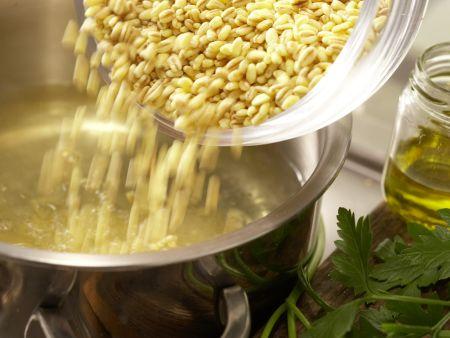 Bunte Weizenpfanne: Zubereitungsschritt 1