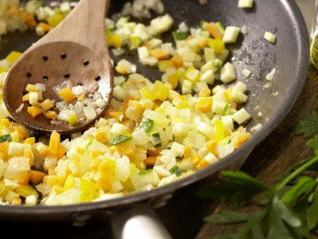 Bunte Weizenpfanne: Zubereitungsschritt 5
