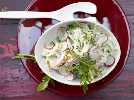 Bunter Weißkohlsalat