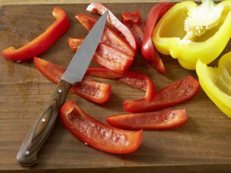 Bunte Gemüsepfanne: Zubereitungsschritt 2