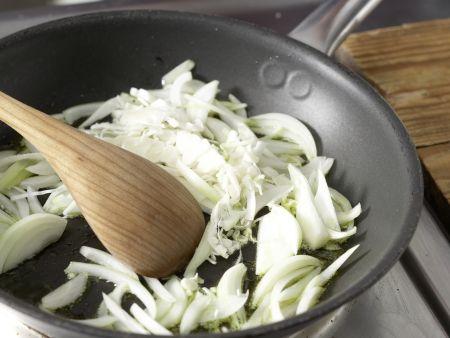 Bunte Gemüsepfanne: Zubereitungsschritt 7