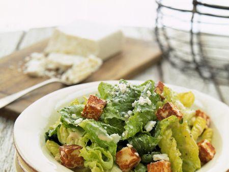 Caesar Salad mit Tofu
