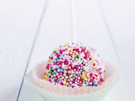 Cake Pop mit Zuckerperlen