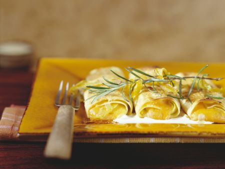 Cannelloni mit Kürbisfüllung