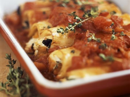 Cannelloni mit Tomatensugo