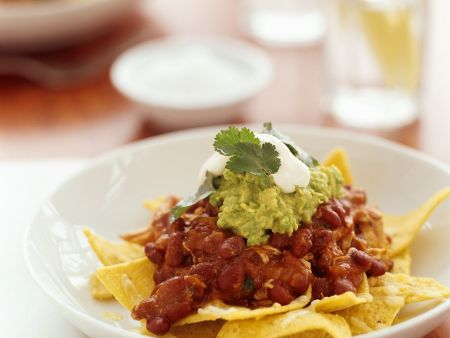 Chili mit Chips