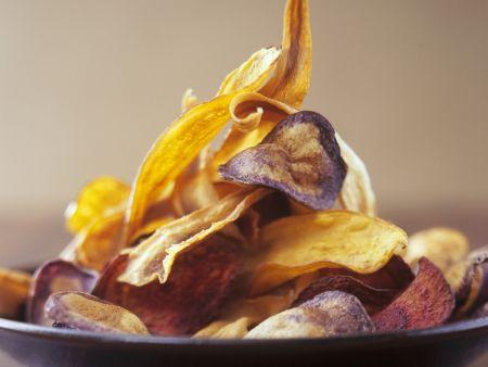 Chips aus verschiedenem Gemüse