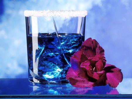 Cocktail Blaue Lagune