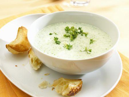 Cremige Kressesuppe