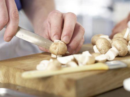 Cremige Pilzsuppe – smarter: Zubereitungsschritt 2