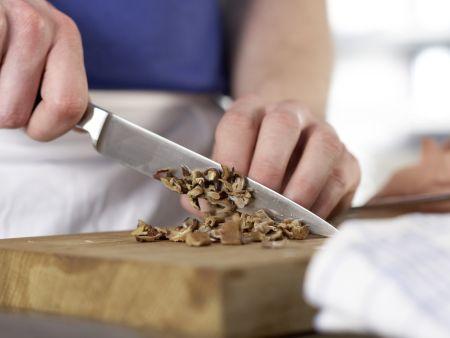 Cremige Pilzsuppe – smarter: Zubereitungsschritt 4