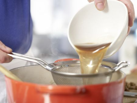 Cremige Pilzsuppe – smarter: Zubereitungsschritt 5