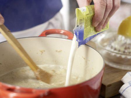 Cremige Pilzsuppe – smarter: Zubereitungsschritt 8