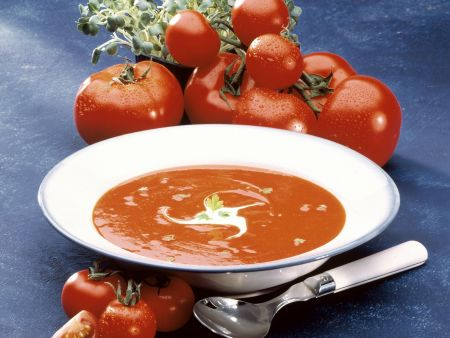 Cremige Tomatensuppe