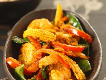cremiges garnelen curry rezept eat smarter. Black Bedroom Furniture Sets. Home Design Ideas