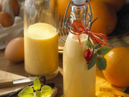Eierlikör mit Orange und Vanille