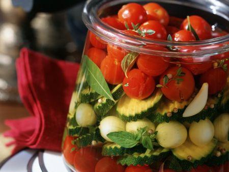 Eingelegtes Gemüse