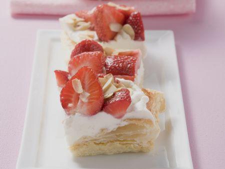 Erdbeer-Sahne-Schnitten